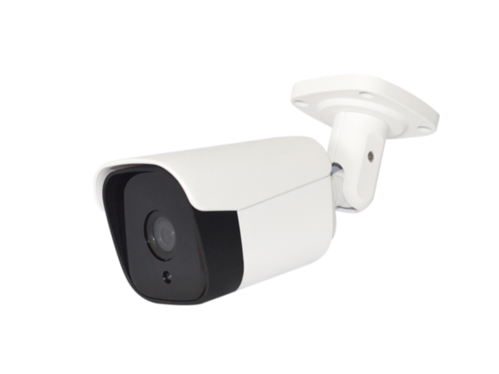 3D DNR Function Latest 1080P Bullet CCTV Camera With Black Glass
